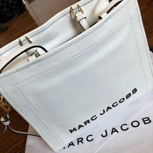 Marc Jacobs, solid white, crossbody bag